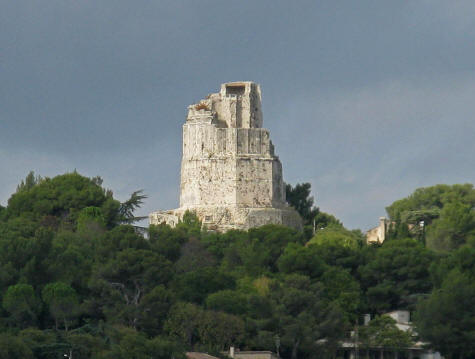 Magne Tower in Nimes France
