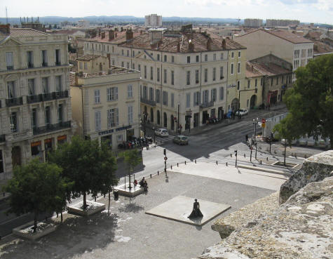 The Fine Arts Museum in Nimes France